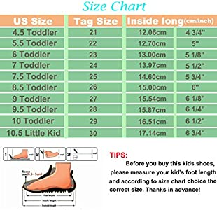 ENERCAKE Toddler Boys Girls Shoes Kids Canvas Sneakers Candy