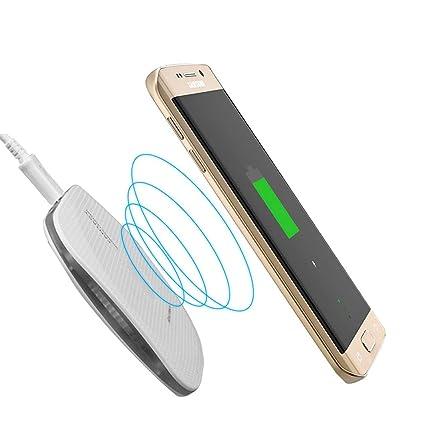 WXCDQI Nuevo Cargador Inalámbrico Ultra Delgado para iPhone ...