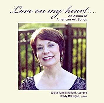 Soprano Judith Pannill Raiford Piano Brady Mcelligott Love On My