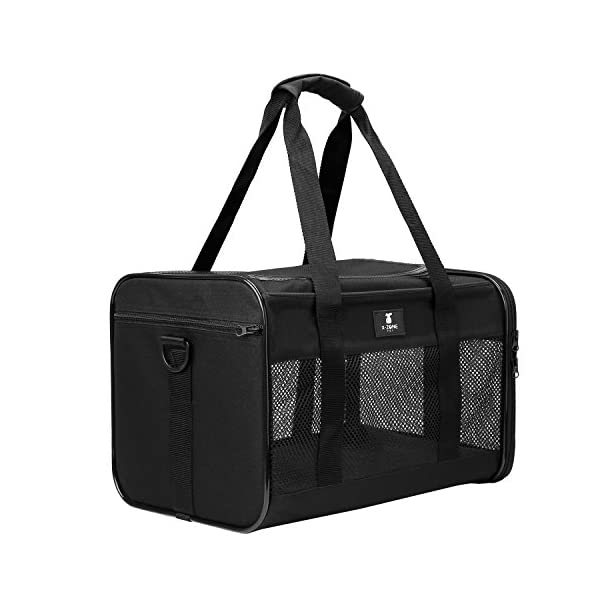 X-ZONE PET Airline Approved Soft-Sided Pet Travel Carrier for Dogs and Cats 1