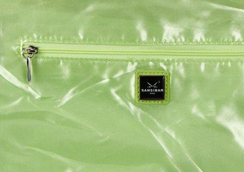 Sansibar Typhoon - Bolso de hombro de material sintético mujer verde - Grün (apple)