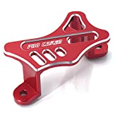 JFG RACING Red Rear Brake Caliper Cover Guard Protector For Honda CR125 CR250 CRF250R CRF250X CRF450R CRF450X CRF450RX 02-17