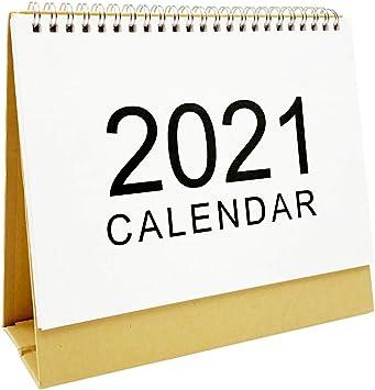 Amazon.: 2021 Standing Desk Calendars Month Desktop Stand Up