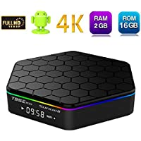 Hindotech T95Z PLUS Amlogic S912 Octa-Core Android 7.1 TV Box with 2GB DDR3 16GB Emmc Flash Support 2.4G/5.0G Dual WiFi 1000M LAN Bluetooth 4.0 4K2K H.265