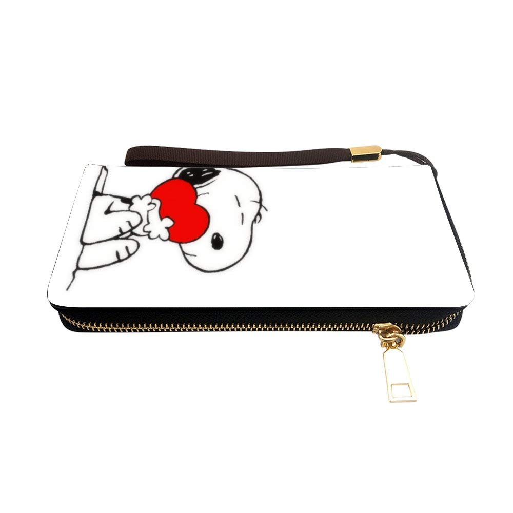 7.87x 4.13x 0.98 14 Coin Purses Zip Chain pouch Floral Tote Bag Long handbag snoopy