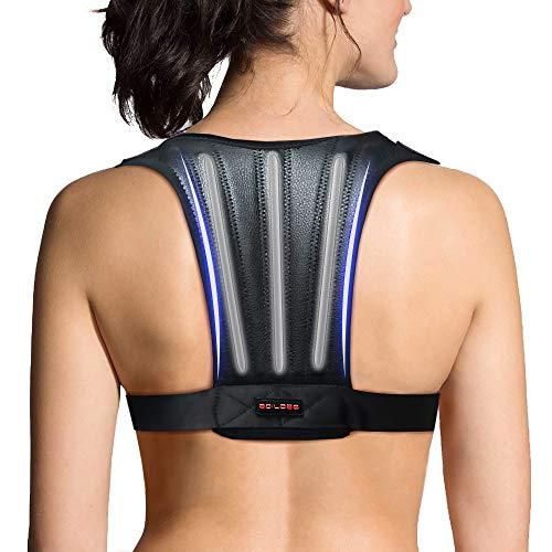 Back Brace Posture Corrector - Back Support Belt with Adjustable Back Straightener - Discreet Back Brace for Upper Back Pain Relief, Improve Posture & Provides Lumbar Support - Fit for Men & Women