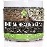 Bentonite Clay, Indian Healing Clay 16 Oz, 10 Recipe eBook Included