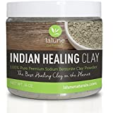 Aztec Clay Mask for Hair La Lune Naturals Aztec Indian Healing Bentonite Clay with 10 Recipe eBook, 16 oz