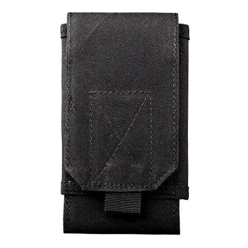Black Neoprene Cell Phone Pouch - 2