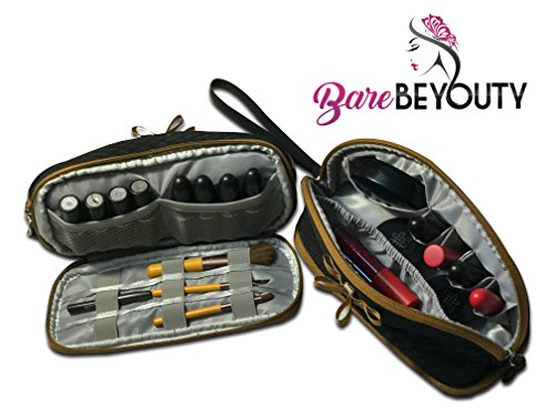 Compartmentalized Makeup Bag - 1