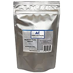 Black Iron Oxide - Fe3o4 - Natural - 5 Pounds
