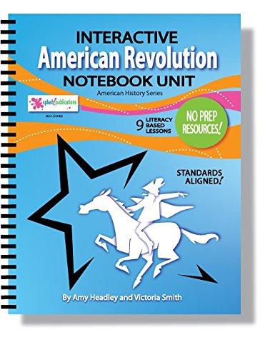 The American Revolution Interactive Notebook Unit (9 Revolutionary War Lessons) ebook