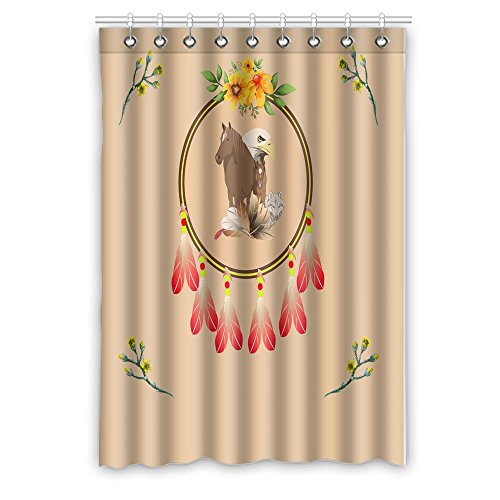 Yananka Window Curtains,Bedroom Living/Dining/Kids Youth Room Drapes,50 x 84,Dream Catcher(One ()