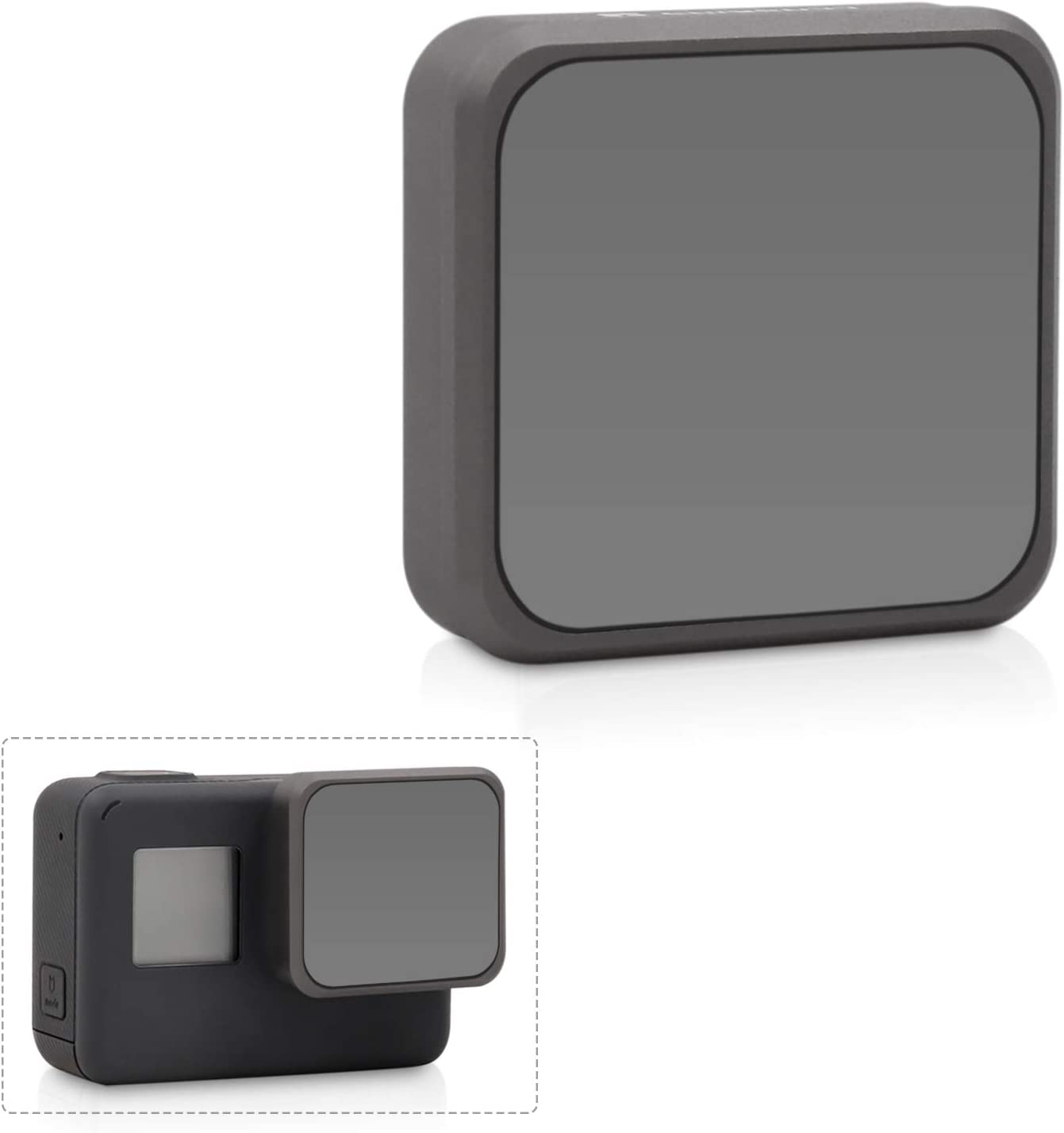 fit with GoPro Hero7 Hero6 Hero5 Professional Filter Set ND4 ND8 ND16 ND32 4-Pack