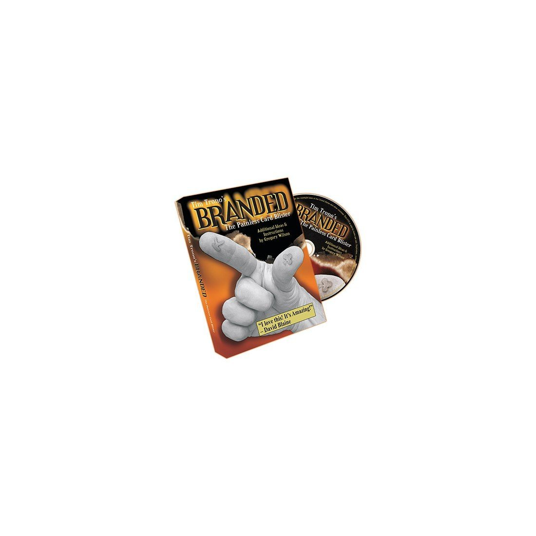 Amazon.com: Branded (Mini and Regular Bic Gimmicks and DVD) by Tim Trono: Movies & TV