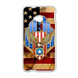 American Flag Custom Protective Hard Phone Cae For HTC One M7