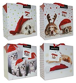 Geschenkboxen Weihnachten Taschenbox Medium 23x16x11 Weihnachtstüte 22-0403-2