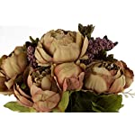EZFLOWERY-Artificial-Peony-Silk-Flowers-Arrangement-Bouquet-for-Wedding-Centerpiece-Room-Party-Home-Decoration-Elegant-Vintage-Perfect-for-Spring-and-Summer-Party-and-Occasions
