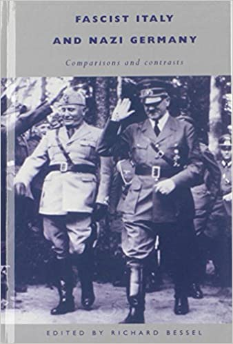 Fascist Italy and Nazi Germany: Comparisons and Contrasts: Amazon.es: Bessel, Richard: Libros en idiomas extranjeros