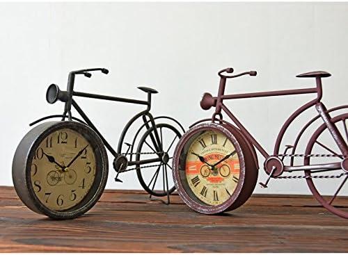 Imoerjia - Reloj de Pared para Bicicleta, diseño Retro de Ciclismo ...
