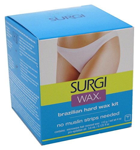 SURGI-WAX Brazilian Waxing Kit 4 oz (Pack of 3) by Surgiwax