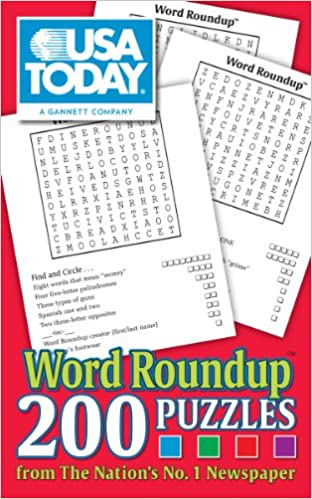 picture about Usa Today Crossword Puzzle Printable called United states of america Nowadays Phrase Roundup: 200 Puzzles against The Countries No. 1