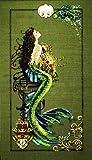 Mirabilia Cross Stitch Pattern Nora Corbett MERMAID OF ATLANTIS