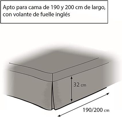 Easycosy - Cubre Canapés para Somier ATENEA Faldon para Cama ...
