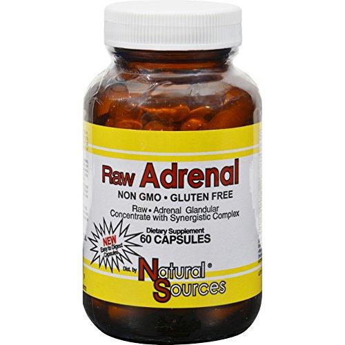 Natural Sources 662304 Adrenal Capsules