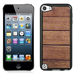 Wet Wooden Planks Durable High Quality iPod 5 Phone Case