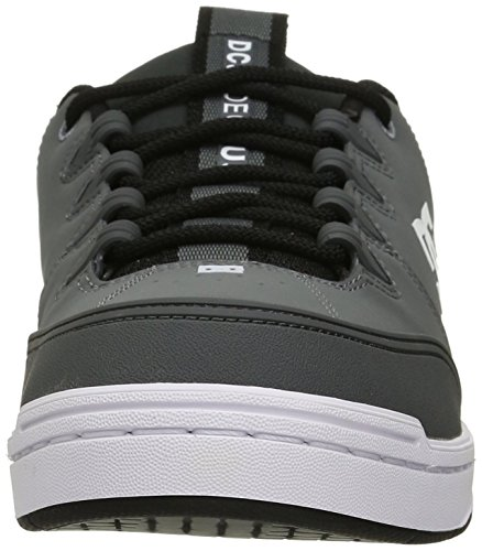 DC Herren Syntax Skate Schuhe, EUR: 40.5, Grey/Grey/Orange