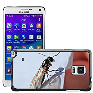 Hot Style Cell Phone PC Hard Case Cover // M00113031 Ant Insect Flying Antenna Bug // Samsung Galaxy Note 4 IV