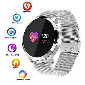 XUWLM Pulsera Reloj Inteligente, Impermeable 1.3 táctil HD ...