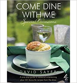 come dine with me special occasions sayer david