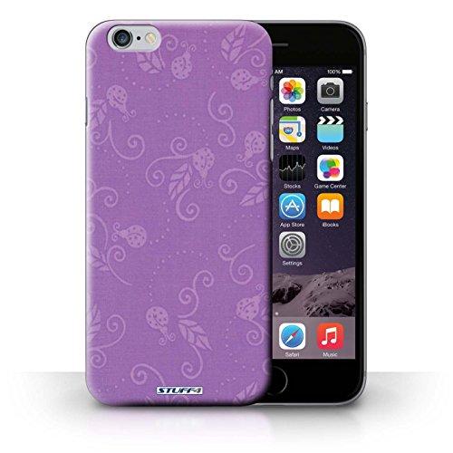 Etui / Coque pour iPhone 6+/Plus 5.5' / Pourpre conception / Collection de Motif Coccinelle
