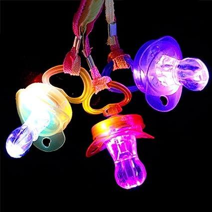 Amazon.com: Light-up LED multicolor chupete por COOLGLOW ...