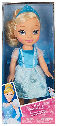 Cinderella Doll Toddler (Disney Princess Toddler Cinderella with Ball Dress , Tiara & Shoes)