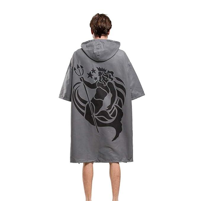 save off 3af11 96b4f Poncho con asciugamano fasciatoio con cappuccio Poncho da ...