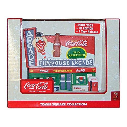 Coca Cola Funhouse Town Square Collection (Coca Christmas Cola Decor)