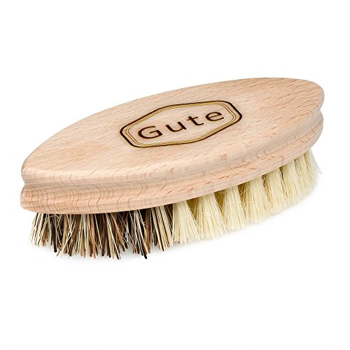 (Gute Large Vegetable and Fruit Brush 5-1/4 Inch Dual Soft and Hard Side)