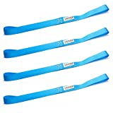 Driver Recovery 4 Soft Loop Tie-Down Straps