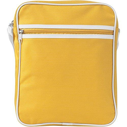 PromotionGift - Bolso al hombro para hombre azul agua small Amarillo