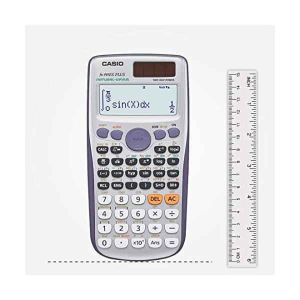 Casio FX-991ES Plus Non-Programmable Scientific Calculator, 417 Functions 5
