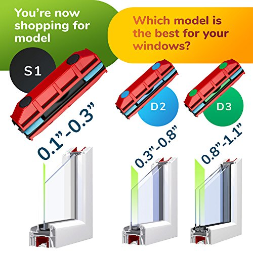 The Glider S 1 Magnetic Window Cleaner For Single Glazed