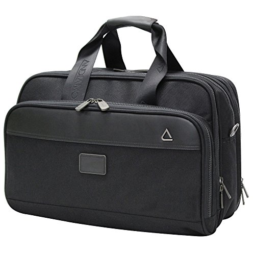 Andiamo Overnight Business Case, Midnight Black, One Size