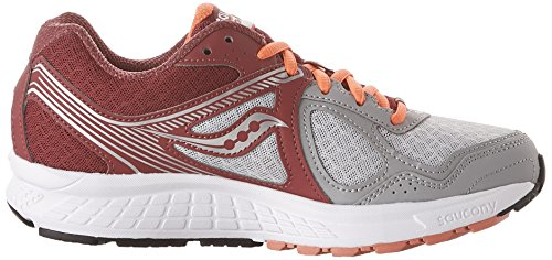 Cohesion red De Multicolore Chaussures Femme Running grey Saucony 10 FSxAWdd