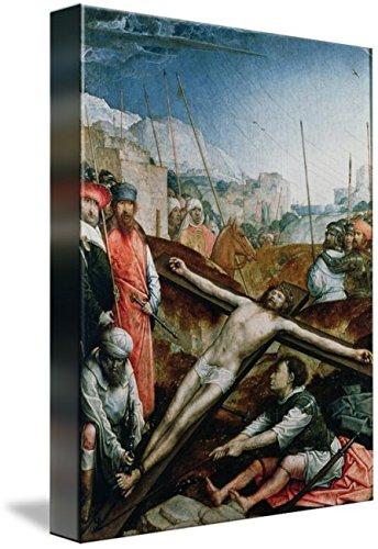 Imagekind Wall Art Print Entitled Christ Raised On The Cross, 1496-1504 by The Fine Art Masters | 7 x 10 ()