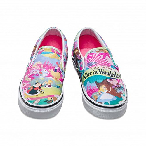 47a4292c72 Vans Disney Femmes Rose Alice in Wonderland Slip on Baskets  Amazon.fr   Chaussures et Sacs