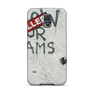 DannyLCHEUNG Samsung Galaxy S5 Protective Hard Phone Cover Custom Nice Foo Fighters Pattern [BHX4993KTMm]
