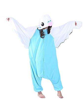 0e770d3c70af Image Unavailable. Image not available for. Color  Men s Women Pajama  Costume Jumpsuit Plush Jumpsuit Animal Disguise for Adult